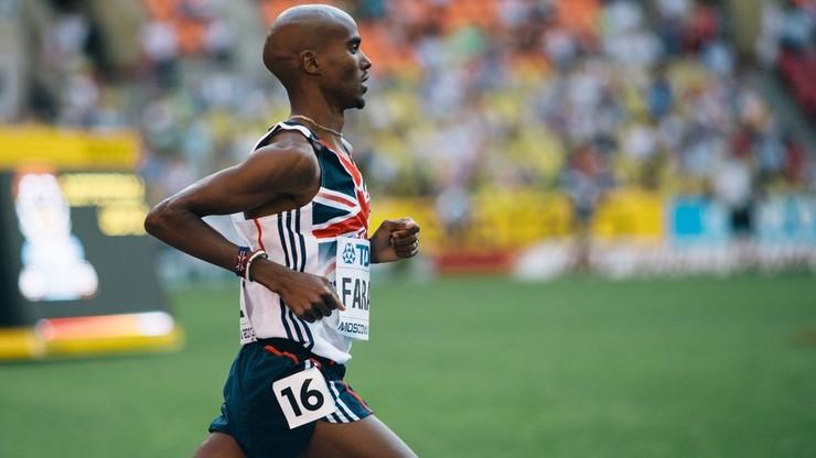 Farah po raz trzeci pobiegnie w maratonie londyńskim
