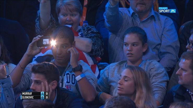 Publiczny lincz! Djokovic wskazał przeszkadzającego mu widza