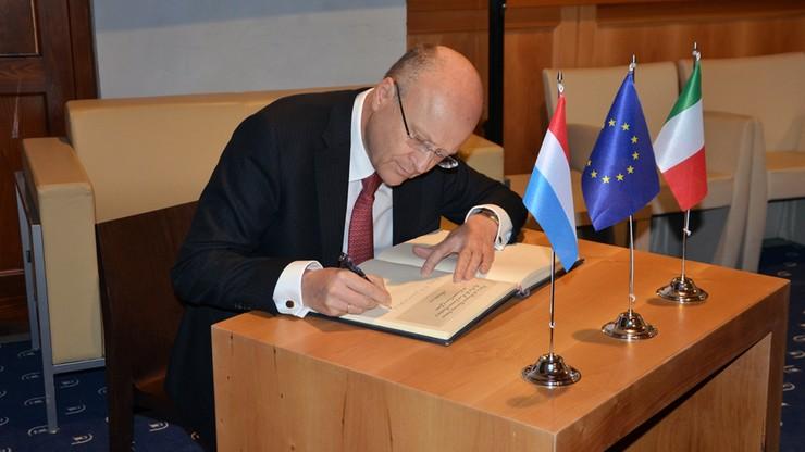 Prezes Trybunału Sprawiedliwości UE broni sędziego Safjana