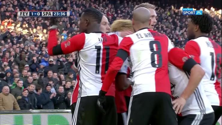 Feyenoord - Sparta 6:1. Skrót meczu