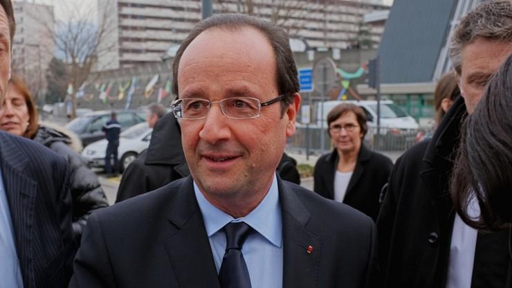 """""""Rosja dla Francji nie jest wrogiem ani zagrożeniem"""" - Hollande po przybyciu na szczyt NATO"""