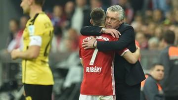 2017-04-11 Robben zazdrosny o relację Ancelottiego z Riberym
