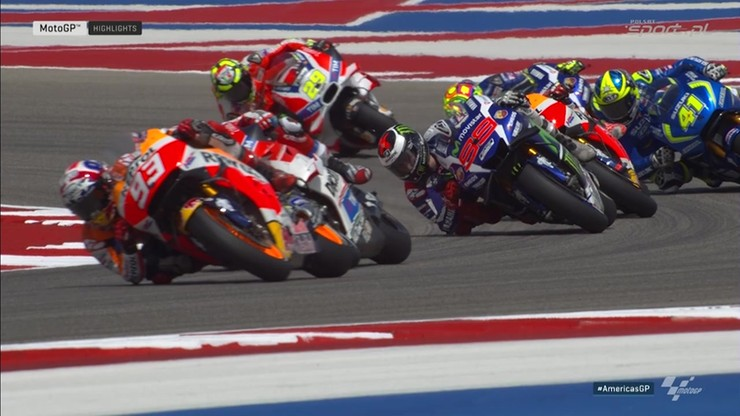 MotoGP: Skrót Grand Prix Ameryk w Austin
