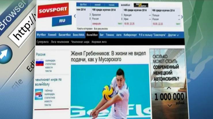 Rosyjskie media: Tylko cud odbierze Polsce awans do półfinału