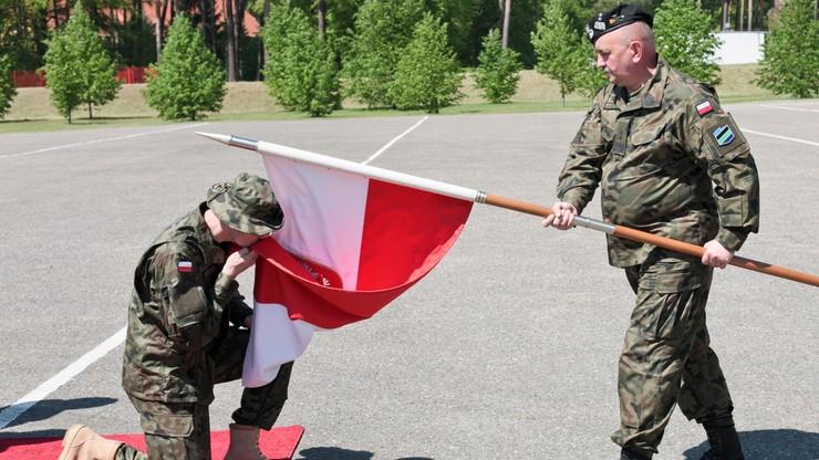 Pożegnano pierwszą zmianę Polskiego Kontyngentu Wojskowego. Żołnierze wyjeżdżają do Rumunii
