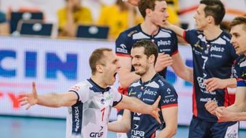 2017-10-18 Cuprum Lubin - ZAKSA Kędzierzyn-Koźle. Transmisja w Polsacie Sport
