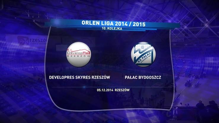 Developres Rzeszów - Pałac Bydgoszcz 3:2. Skrót meczu