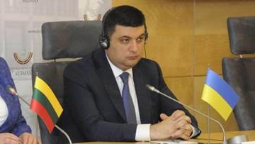 11-04-2016 21:41 Ukraina: Hrojsman odmawia przyjęcia teki premiera