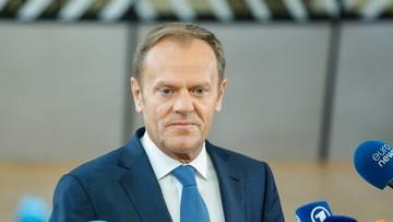 29-04-2017 13:44 Zawiadomienie ws. znieważenia Tuska przez Szonert-Biniendę. Wniosek skierował mec. Giertych