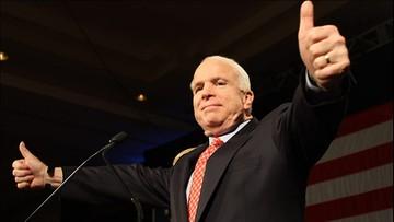 25-07-2017 12:29 Chory na nowotwór McCain chce wziąć udział w debacie na temat Obamacare