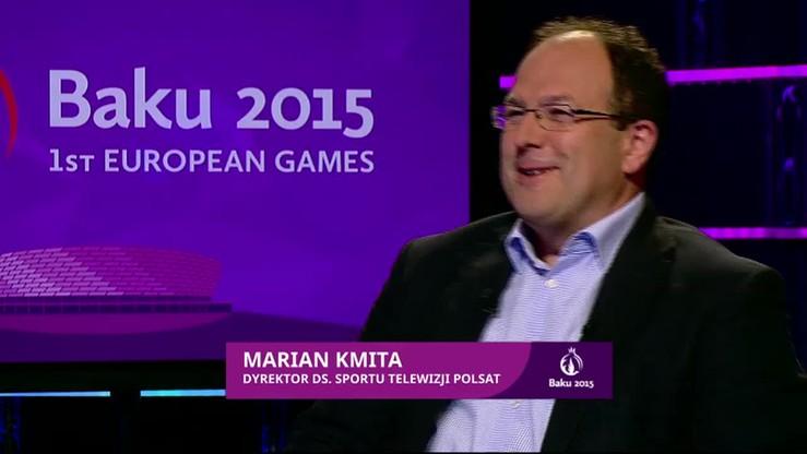 Kmita: Transmisje z Baku jak z Londynu