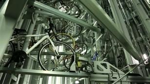 Podziemny parking dla rowerów. Rozwiązanie ergonomiczne i bezpieczne