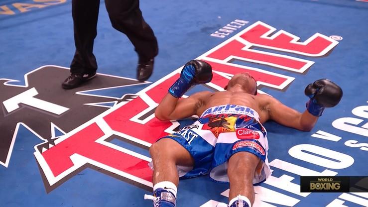 Roman Gonzalez ciężko powalony na deski w czwartej rundzie