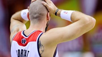 2016-11-06 NBA: Minimalna porażka Wizards, osiem punktów Gortata