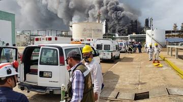 21-04-2016 07:48 Trzech zabitych, 136 rannych w wybuchu w zakładach petrochemicznych w Meksyku