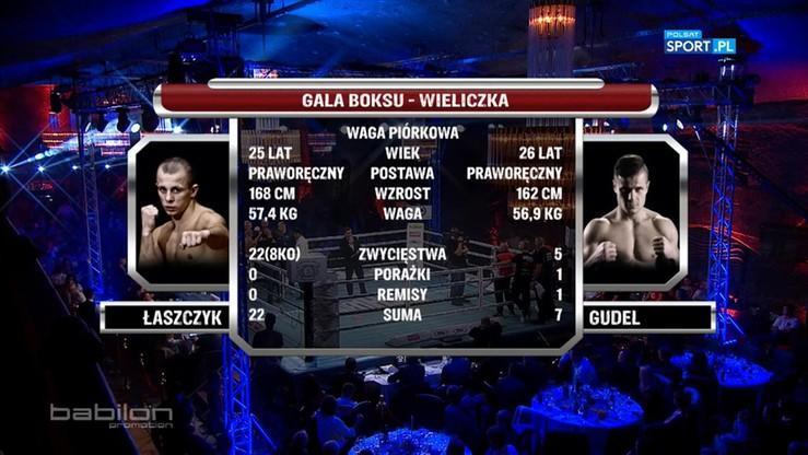 2016-10-23 Kamil Łaszczyk - Piotr Gudel. Skrót walki