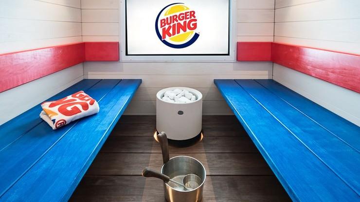 Burger King w Finlandii oferuje klientom saunę i spa