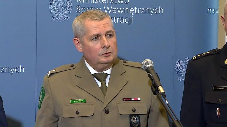 Komendant główny Straży Granicznej i jego zastępca generałami