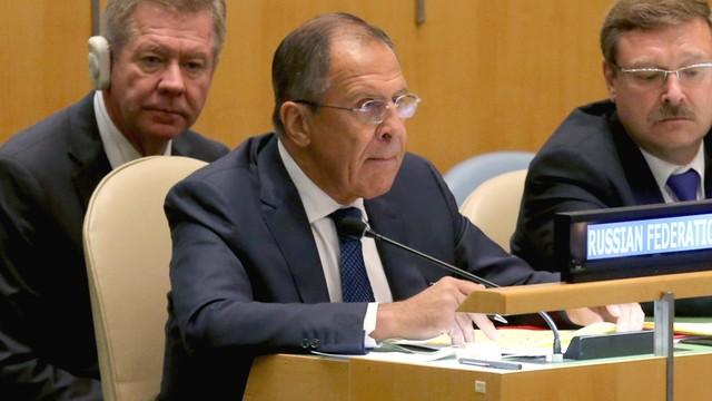 Ławrow: Rosja popiera spotkanie w Nowym Jorku ws. Syrii