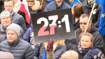 Gdańsk: manifestacja poparcia dla Donalda Tuska