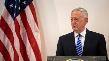 28-06-2017 17:09 Szef Pentagonu: ostrzeżenie ws. ataku chemicznego mogło powstrzymać Syrię