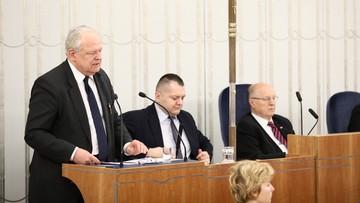 """14-12-2017 14:17 """"Nawet jeśli nie będzie wolnych sądów i wolnych wyborów to pamiętać o nich będą wolni ludzie"""". Sędzia Zabłocki w Senacie"""