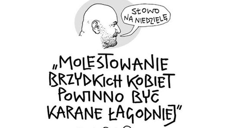 """""""Żenujący"""" i """"prymitywny"""" - internauci ostro o najnowszym rysunku Mleczki"""
