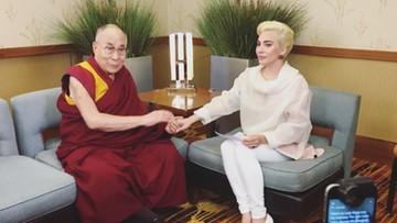 28-06-2016 13:05 Lady Gaga niechciana w Chinach. Za spotkanie z Dalajlamą