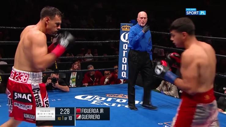 Figueora Jr vs Guerrero. Skrót walki