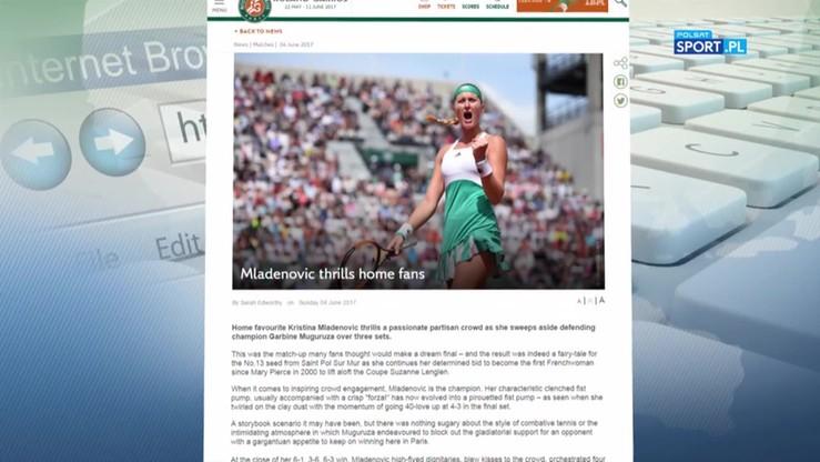 Przegląd ciekawostek z French Open - 04.06