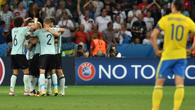 Szwecja - Belgia: Skrót meczu Euro 2016 (WIDEO)