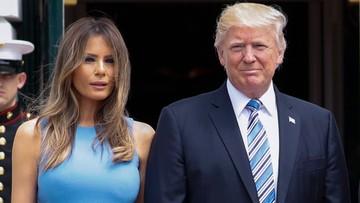 20-06-2017 22:41 Melania Trump przyjedzie z prezydentem USA do Polski