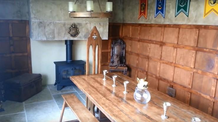 Za 13 tysięcy funtów zrobili w domu salę Hogwartu