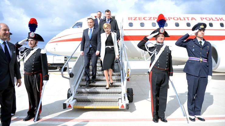 Prezydent Duda rozpoczyna trzydniową wizytę we Włoszech