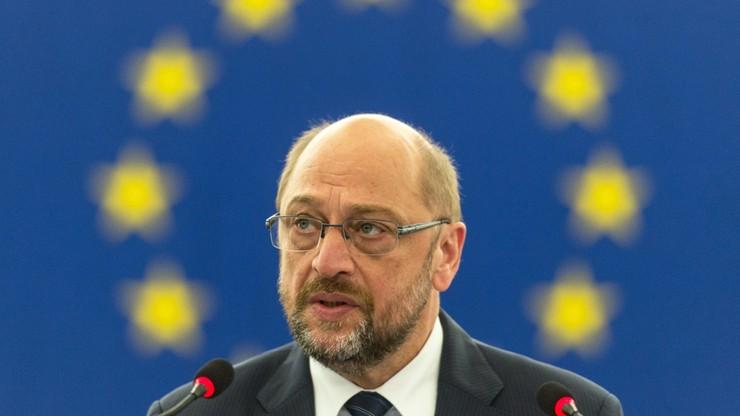 Schulz: spór z partią PiS to nie spór z Polską