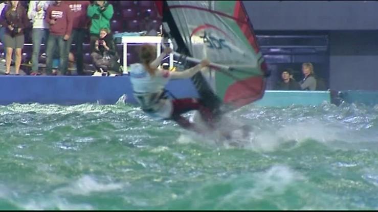 Skoki, tricki i slalomy czyli windsurfing na Narodowym