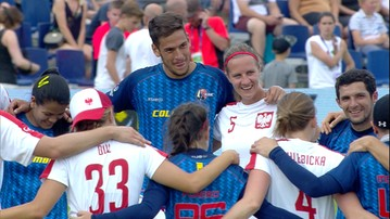 2017-07-22 Latające dyski: Polska przegrała z Kolumbią