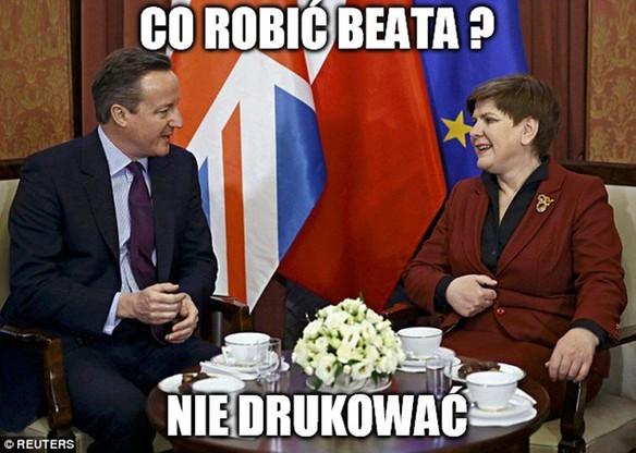 """""""Co wyszło Unii Europejskiej? Wielka Brytania"""". Memy po Brexicie"""