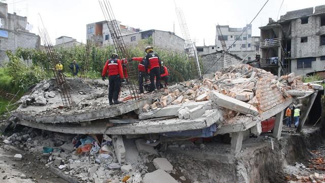 Ekwador: 350 ofiar śmiertelnych trzęsienia ziemi