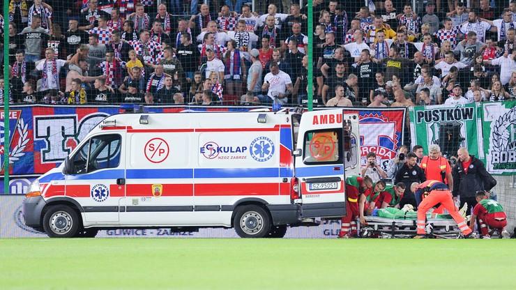 Chwile grozy w Zabrzu! Utrata przytomności Sochy, dwóch piłkarzy w szpitalu