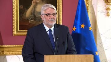08-05-2017 15:46 Waszczykowski: mamy nadzieję, że Macron odwiedzi Polskę i podejmie z nami rozmowy