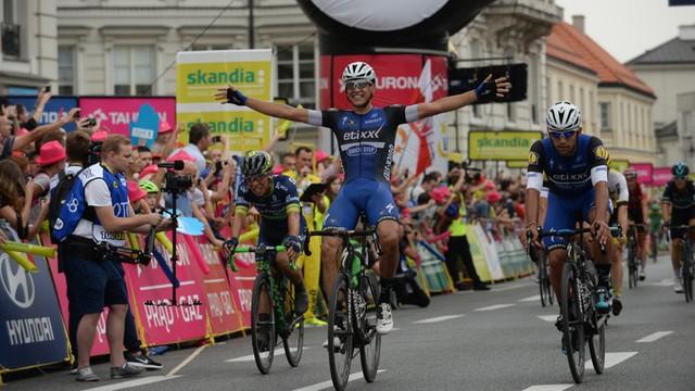 Tour de Pologne: Martinelli wygrał w Warszawie