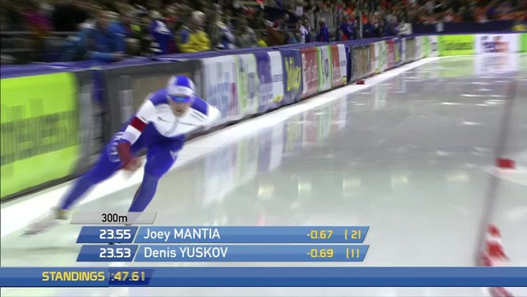 Znakomity bieg i rekord toru Denisa Juskowa