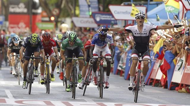 Jasper Stuyven zwycięzcą ósmego etapu Vuelta a Espana