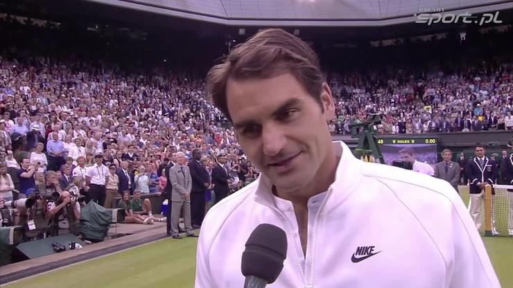 Federer: Novak grał świetny turniej. Gratuluję my zwycięstwa