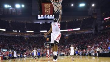 2017-03-16 NBA: Triple-double Hardena, Rockets pewni gry w play-off