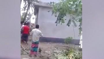 15-06-2016 14:55 W niecałe 10 sekund dom zniknął w oceanie