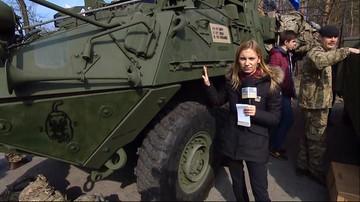 2017-03-29 Powitanie żołnierzy NATO w Wesołej