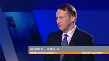 Kaczyński nie ma pojęcia o polityce zagranicznej. Nie zna żadnego jezyka obcego - Radosław Sikorski w