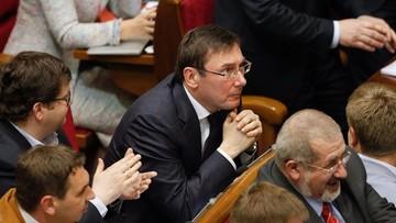 12-05-2016 18:51 Ukraina ma nowego prokuratora generalnego. Został nim Jurij Łucenko